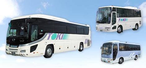 十季観光の貸切バス